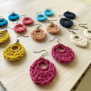 Dewdrop Crochet Earrings