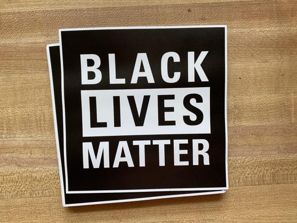 Black Lives Matter car magnet